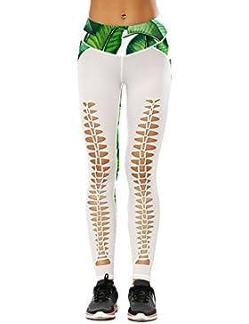 Leggins Mujer Primavera Verano Elegantes Pantalon Deporte Pantalones Deporte Pantalones Deportivos Pantalones...