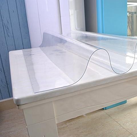 Nappe Imperméable Jetable Nappe Transparente, Nappe En Plastique,Garniture De Thé De Protection De Table Ovale-J