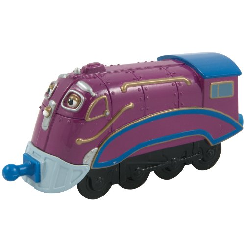 Tomy - Chuggington Die Cast - LC54027 - Véhicule Miniature et Circuit - Speedy Mc Allister