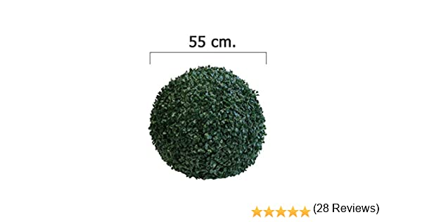 PAPILLON Sfera di bosso Sintetico /ø55cm Colore Verde