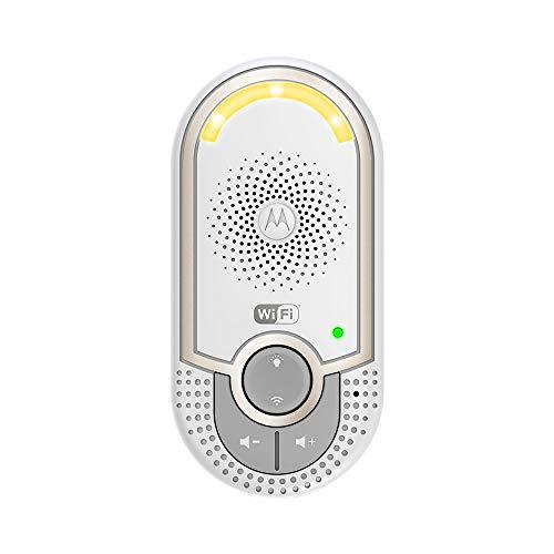 Motorola MBP 162 Babyphone, Digitales Wireless Babyfon, Mit Nachtlicht und DECT-Technologie, Zur Audio-Überwachung, Weiß