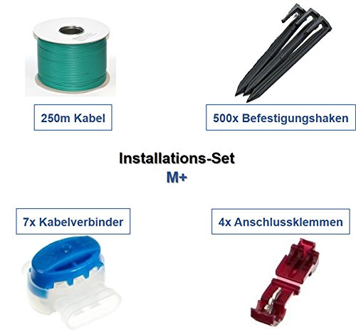 genisys Installation Set M+ Herkules Wiper Joy XK Runner XH SH Kabel Haken Verbinder Kit