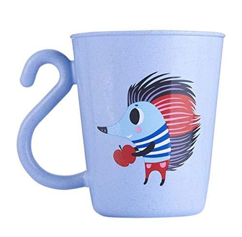 qnmbdgm Baby, das Trinkbecher mit Griff-Kleinkind-Wasser-Cup-Flasche lernt - Flasche Baby-lernt