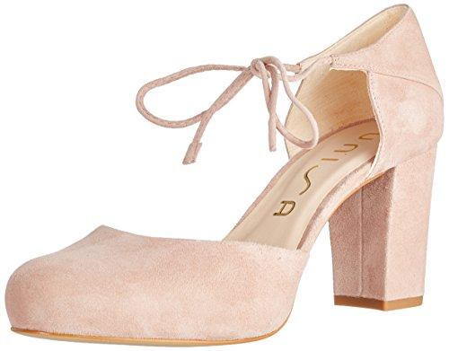 Unisa Nadan_KS, Zapatos con Tacon y Correa de Tobillo Para Mujer, Rosa (Tuscany), 37 EU