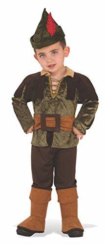 Rubie' s 641139 - Costume Bambini Robin Hood, Taglia Small (3-4 Anni)