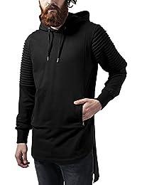Urban Classics Pleat Sleeves Terry Hilo Hoody, Sweat-Shirt àCapuche Homme