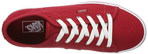 Vans Y Ferris (S14), Baskets mode mixte enfant Rouge (Red/White)