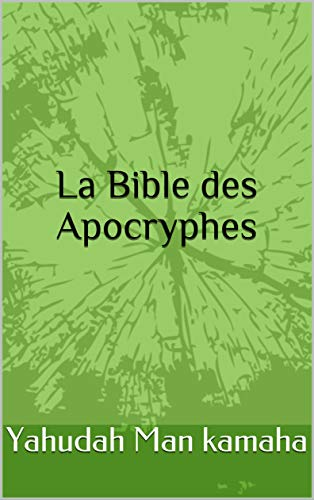 Couverture du livre La Bible des Apocryphes