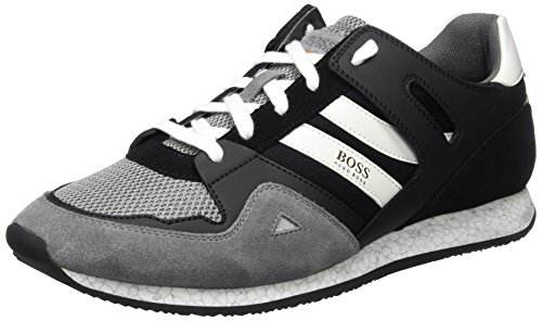 Boss Orange Adrenal_runn_mx 10197240 01, Sneakers Basses Homme Gris (Open Grey)