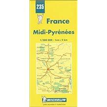 Midi-Pyrenees (Michelin Regional Maps)