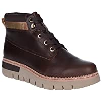 Caterpillar Pastime Womens Other Leather Material Ankle Boots Soil