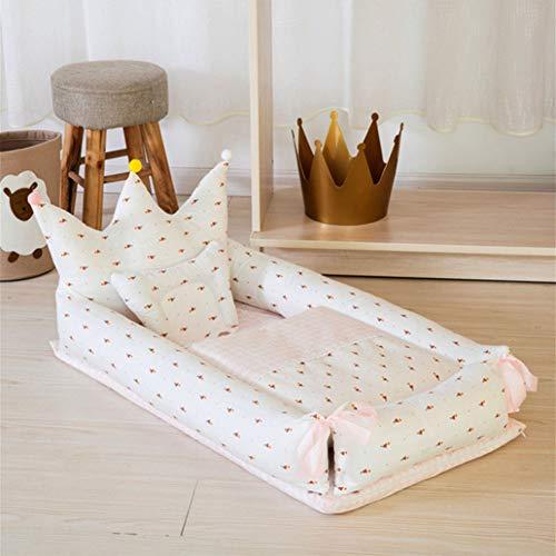 Baby Nest Kissen CocoonPortable Bettdecke Isolation Bettform Modell Bionic Baby Bett,Color3,90x55x35cm