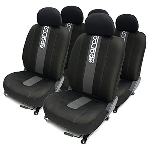 sparco-corsa-spc1012-set-of-seat-covers-with-grey-stripe