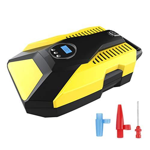 ACORRA Reifenfüller, Digitales Tragbares Intelligentes Abs Luftpumpenwerkzeug mit Led Licht für das Schwimmen des Ring Basketball Spielzeugs