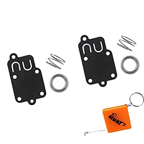 HURI 2x Carburateur Membrane Joint Reparation Kit Pour Briggs & Stratton 270026 272538 272538S 4157 5021A 5021H