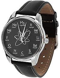 Química Reloj con Elementos químicos ...