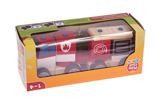 Playtive® Junior Steckspiel Feuerwehr 11 teilig 279586