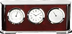 Bey-Berk International Weather Station Desktop Clock