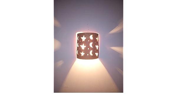 Applique da parete lampada lanterna in terracotta 0931 marocco