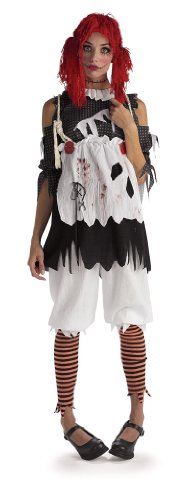 Doll Kids Kostüm Rag - Rubie's Official Girl's Rag Doll Costume - X-Small