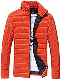 5d794ea77f1b Herren Federgewicht Langarm Winddicht Stehkragen Warm Wintermantel  Daunenjacke Mit Zipper Mode Marken Mantel Jacken Coat