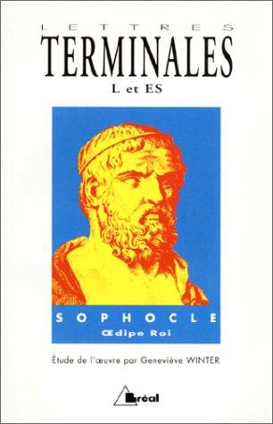 Lettres, terminale L et ES. Sophocle