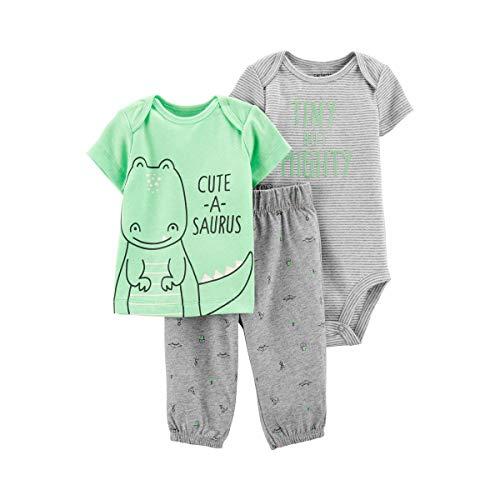 3-TLG. Set T-Shirt, Body Kurzarm und Hose Dino Dino-hose
