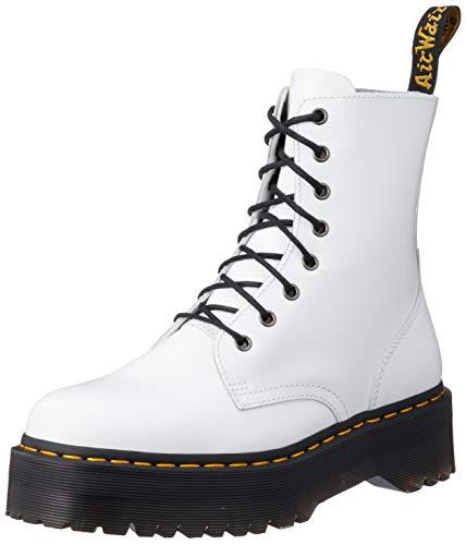 DR MARTENS Jadon, Zapatos de Escalada para Mujer, Blanco (White 15265100), 36 EU