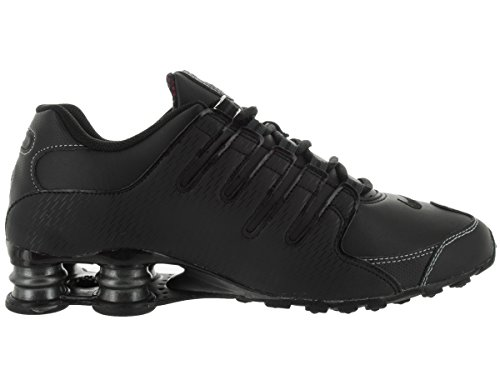 Shox NZ Scarpe da corsa in pelle Black/Vrsty Red/White/Anthrct