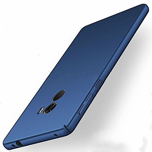 NAVT Xiaomi Mi Mix 2 Funda,Ultrafino Estructura completamente rodeada la estructura de superficie mate Durable PC Protector teléfono funda para Xiaomi Mi Mix 2 Smartphone (azul)