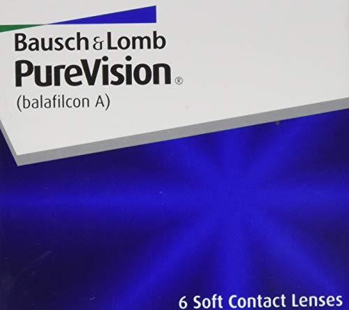 Bausch & Lomb Purevision Spheric Monatslinsen weich, 6 Stück / BC 8.6 mm / DIA 14.0 mm / -2,75 Dioptrien