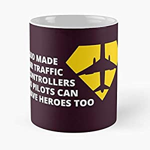 God Made Air Traffic Controllers So Pilots Can Have Heroes Too Best Gifts For Birthdays Awesome Cheap - Bestes 11 Unze-Keramik-Kaffeetasse Geschenk
