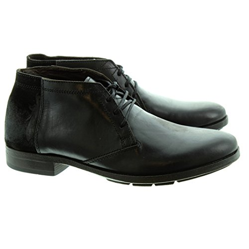 Fly London  SOAR, Derbies à lacets homme Noir