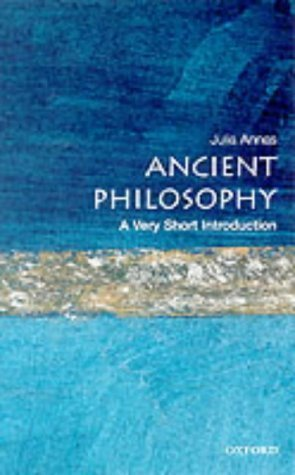 Ancient Philosophy: A Very Short Introduction (Very Short Introductions) by Annas, Julia (2000) Paperback
