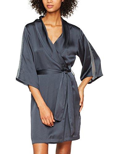 Iris & Lilly Damen Kimono, Blau (Teal), Medium (Teal Unterwäsche)