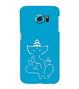 EPICCASE Outline Bappa Mobile Back Case Cover For Samsung Galaxy S6 Edge (Designer Case)