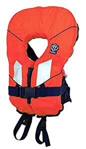 """Adult 50N and CHILD 35N SOLES UP FRONT Buoyancy Aid. Ideal for Jet Ski, Windsurf, Water Ski, Fishing, Kayaking or Canoe. Compact design & FULLY Approved to EN393 (orange, <15kg 16-22"""" chest)"""