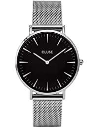Cluse Damen Armbanduhr Analog Quarz Edelstahl CL18106