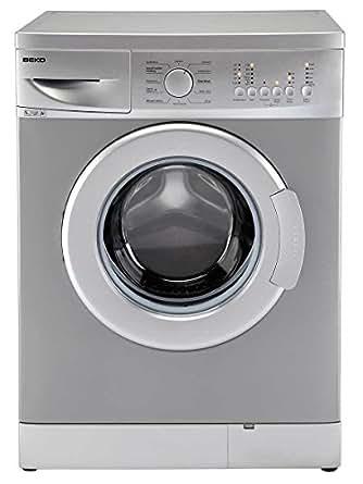 Beko WMB51221S Autonome Charge avant 5kg 1200tr/min A+ Argent machine à laver - Machines à laver (Autonome, Charge avant, Argent, boutons, Rotatif, Gauche, 180°)