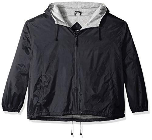 Unbekannt Clementine Herren ULTC-8915-Fleece-Lined Hooded Jacket Sweatshirt, schwarz, Klein -