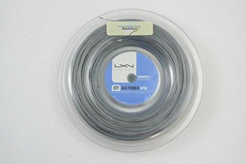 Alu Power Spin LUXILON Tennis Saitenset 12m String 1.27mm 16g Set von der Rolle Geschnitten