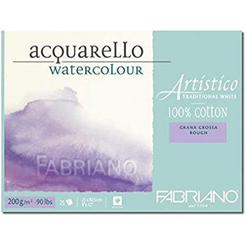 Blocco Artistico Traditional White 200gr grana grossa
