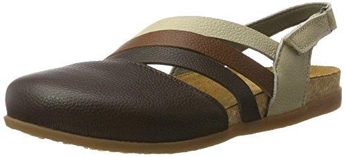 El Naturalista Nf45 Soft Grain Zumaia, Sandali Closed-Toe Donna Multicolore (Brown Mixed)