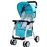 DDOQ utile Baby Cart Pieghevole Portatile Leggero Carrozzina può sedersi / Reclinare Baby Child Ombrello Passeggino (Colore: Rosso) ( Color : Green )