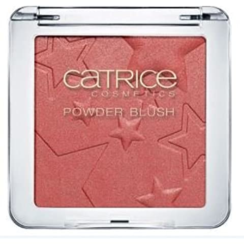Catrice–Limited Edition Treasure Trove Powder Blush nº C01Caviar and Champagne contenido: 9,18g de polvo Rouge con oro brillo.