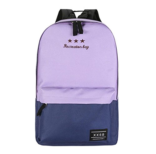 Tefamore - Borsa a Zainetto donna Ragazza Purple
