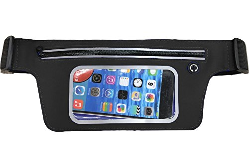 Sports Belt Waist Pack Zip Pockets, Outdoor Sports for sale  Delivered anywhere in UK