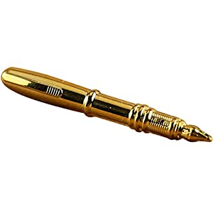 Dabixx 1 Piece Tie Clip for Mens, Men Pen Decor Tie Bars Pin Clasp for Wedding Business Suit Tie Gift Accessories – Gold