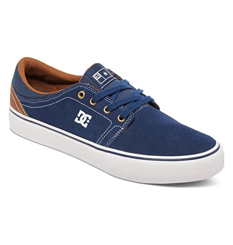 DC - Trasé S Low Top Chaussures pour hommes Navy/Dk Chocolate