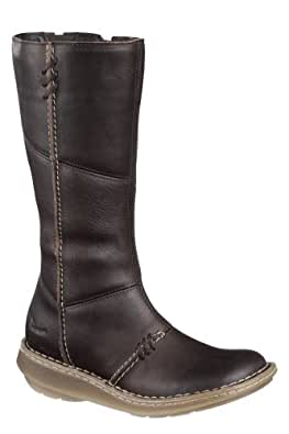 Dr. Martens Women's 10491202 New authentic wedge high leg boot Bark 3 UK